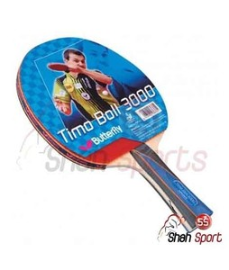 Shah Sports Butterfly Timo Boll 3000 Table Tennis Racket