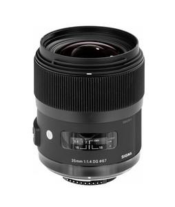 Sigma 35mm f/1.4 DG HSM Art Lens for Sigma DSLR