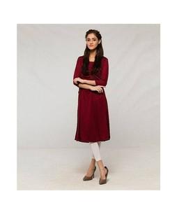 Dealz On Hai Stylish Kurti For Women Maroon (DOH-179)