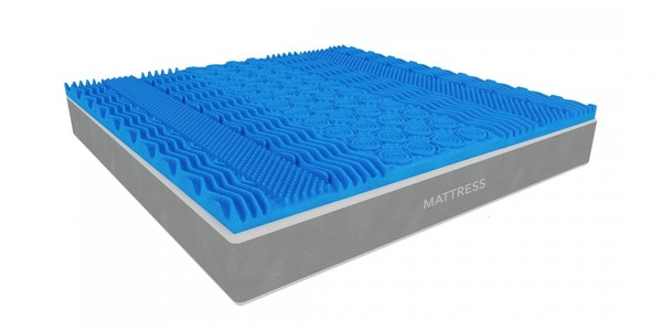 MoltyFoam Molty Cool Gel 7 Mattress Topper Queen 78x66x2