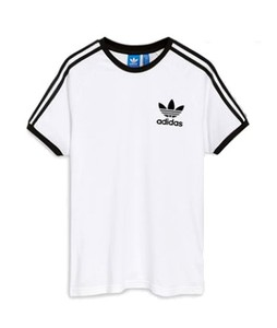 Next Adidas Originals California Mens T-Shirt White (418-676)
