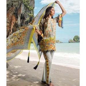 Maheen Taseer Luxury Womens Lawn 2018 (MT -1A)
