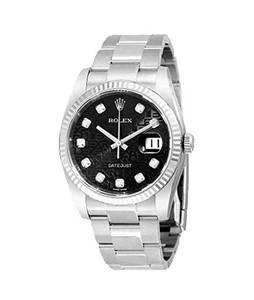 Rolex Datejust Mens Watch Silver (116234BKJDO)