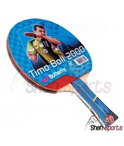 Shah Sports Butterfly Timo Boll 2000 Table Tennis Racket