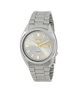 Seiko 5 Mens Watch Silver (SNXS75)
