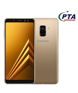 Samsung Galaxy A8 2018 64GB Dual Sim Gold - Official Warranty