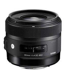Sigma 30mm f/1.4 DC HSM Art Lens for Digital SLR Cameras