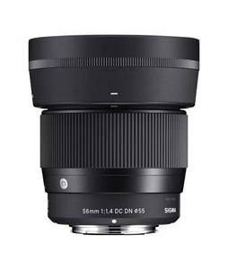 Sigma 56mmE mountf/1.4 DCDN Contemporary Lens for EOS