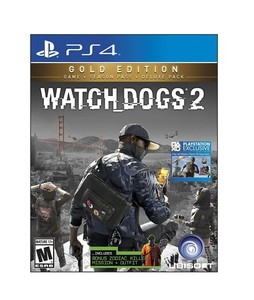Watch Dogs 2: Gold Edition Game For PS4