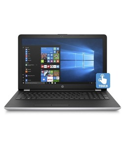 HP 15.6 Core i3 6th Gen 4GB 1TB Touch Notebook Silver (15-BS023CA) - Refurbished