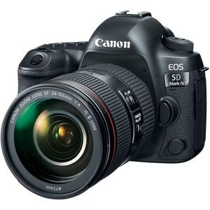 Canon EOS 5D Mark IV DSLR Camera with 24-105mm II USM Lens - International Warranty
