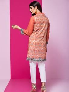 Khas Stores Stitched Lawn Kurti For Women 1 Piece (DR-258)