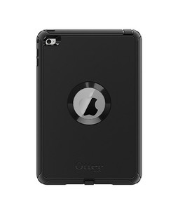 OtterBox Defender Series Black Case For iPad Mini 4