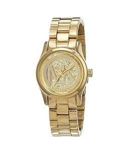 Michael Kors Petite Runway Womens Watch Gold (MK3304)