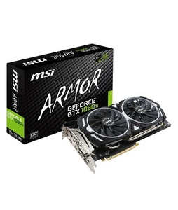 MSI GeForce GTX 1080 Ti ARMOR 11GB OC Graphics Card