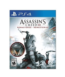 Assassins Creed III: Remastered Game For PS4