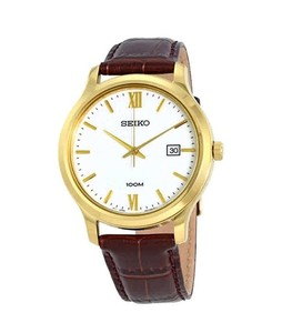 Seiko Classic Mens Watch Brown (SUR226P1)