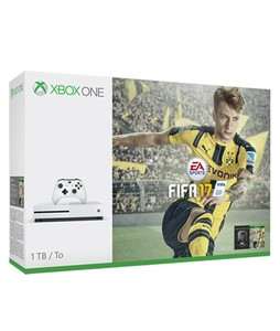 Xbox One S 1TB Console - FIFA 17 Bundle with Charging Pod & Vertical Stand