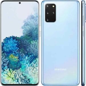 Samsung Galaxy S20+ 128GB Dual Sim Cloud Blue - Official Warranty - Free Wireless Battery Pack & Tripod Stand