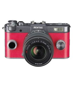 Pentax Q-S1 Mirrorless Digital Camera Gunmetal With 5-15mm Lens