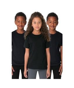 C-Tees Pack Of 3 Plain T-Shirt For Kids Black (CKT10056)