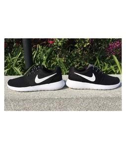 BoultonMarket Roshe Run Shoes For Men Black/White