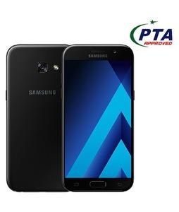 Samsung Galaxy A3 2017 16GB Dual Sim Black Sky (A320FD) - Official Warranty