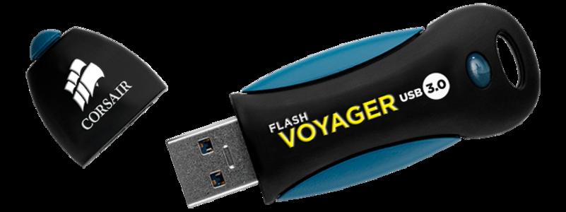 Corsair Flash Voyager 64GB USB 3.0 Flash Drive (CMFVY3A-64GB)