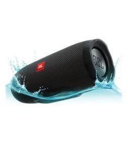 JBL Charge 3 Waterproof Portable Bluetooth Speaker - Black