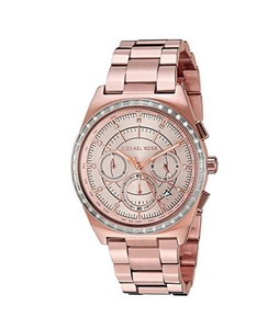 Michael Kors Vail Womens Watch Rose Gold (MK6422)
