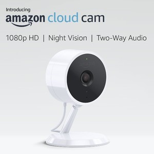 Amazon Cloud Cam Indoor Security Camera Works with Alexa