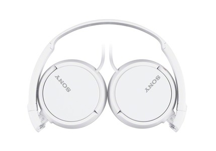Sony Extra Bass On-Ear Headphones White (MDR-ZX110AP)