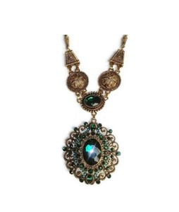 Dost Ki Dukaan Pendant Jewelry Necklace For Women Green