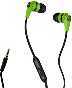 Skullcandy Wired Earphones Light Green