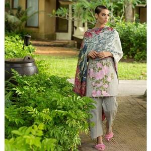 Maheen Taseer Luxury Womens Lawn 2018 (MT-6B)