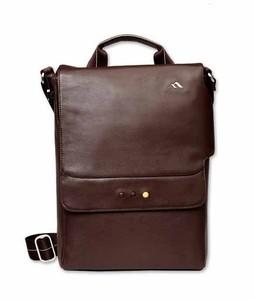 Brenthaven Mercer Messenger Bag for iPad Mini 4 Brown Leather (2324)
