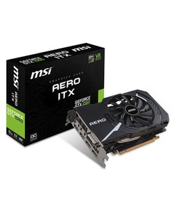MSI GeForce GTX 1060 AERO ITX 6G OC 6GB Graphics Card