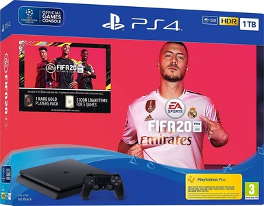 Sony Playstation 4 1TB Console - FIFA 20 Bundle