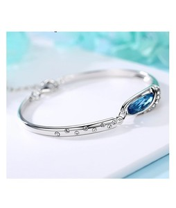 Scenic Accessories Bangle Bracelet For Women - Silver