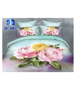 RGshop 3D Double Bed Sheet (SD-0463)