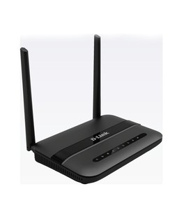 D-Link Wireless N300 ADSL2+ 4-Port Router (DSL-124)