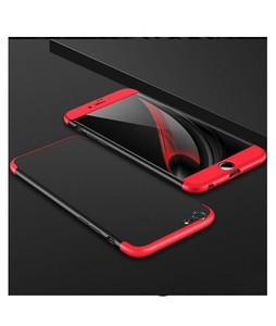 360 Degree Case Red/Black For iPhone 6 Plus