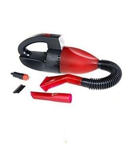 JS Electronics 12V Car Vacuum Cleaner Red