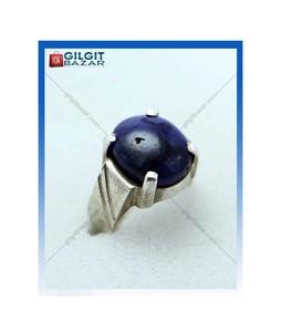Gilgit Bazar Sapphire Stone Ring For Men (Gb1957)