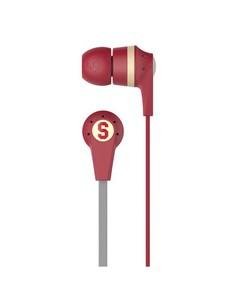 Skullcandy INKD 2.0 In-Ear Headphones with Mic Red Cream (S2IKHY-481)