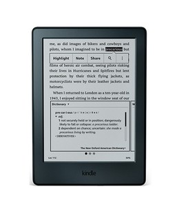 Amazon All New Kindle E-reader 6  Black
