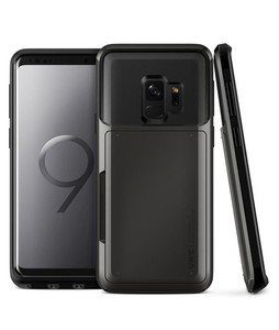 VRS Design Damda Glide Series Metal Black Case For Galaxy S9