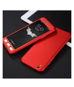Khalid Accessories 360 Degree Red Case For Oppo A37