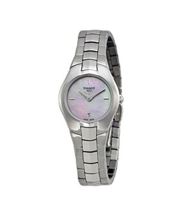 Tissot T-Round Womens Watch Silver (T0960091115100)
