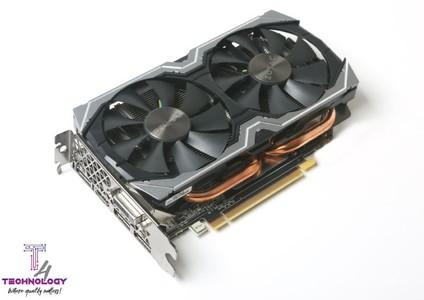 ZOTAC GeForce GTX 1060 6GB AMP Edition Graphics Card (ZT-P10600B-10M)